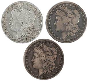 14 Circulated New Orleans Mint Morgan Dollars