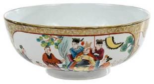 Chinese Export Famille Rose Enameled Bowl