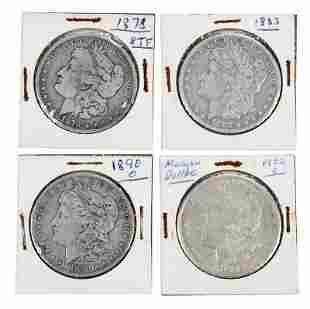 Silver Morgan Dollar Partial Coin Set