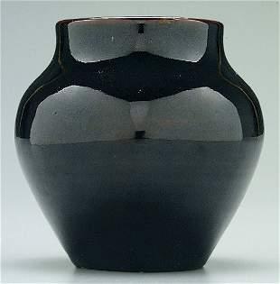 W.B. Stephen black vase,