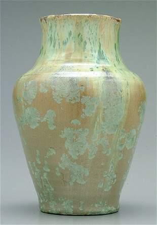W.B. Stephen crystalline vase,