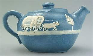W.B. Stephen cameo teapot,
