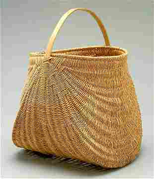 Honeysuckle gathering basket,