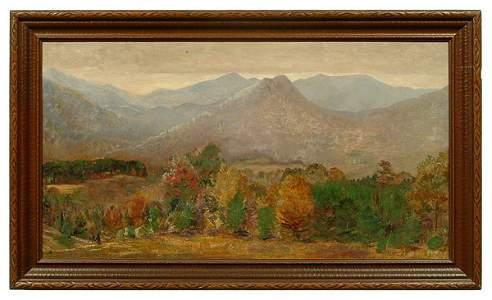274: Ida Jolly Crawley painting,