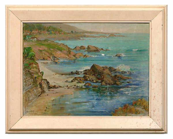 332: Louise Hannon Leyden painting,