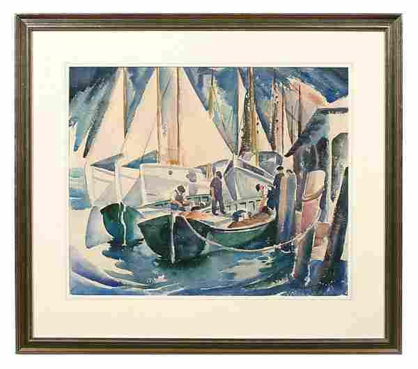 Carson Sutherlin Davenport painting,
