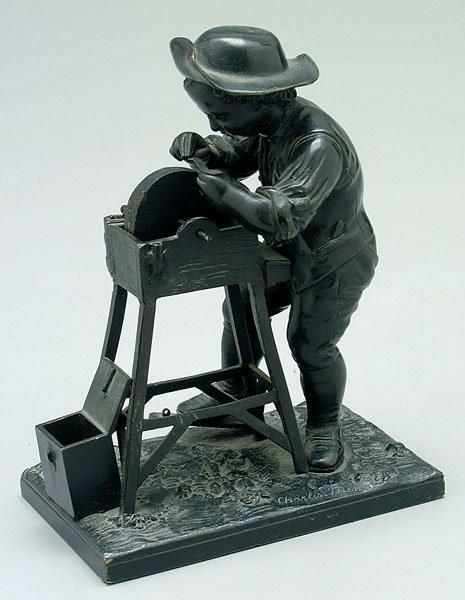 655: Bronze figure after Charles Menne,