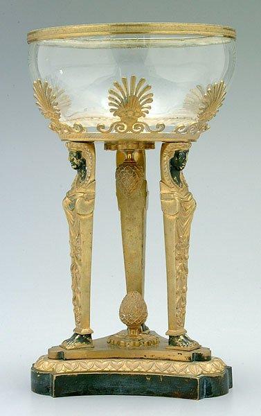 664: Empire center bowl,