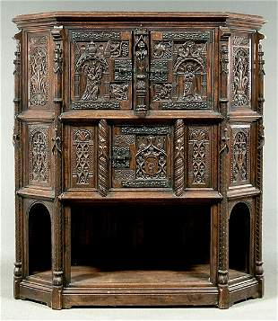 English court cupboard,