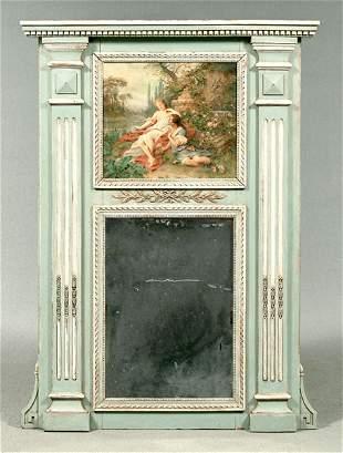 Trumeau mirror,