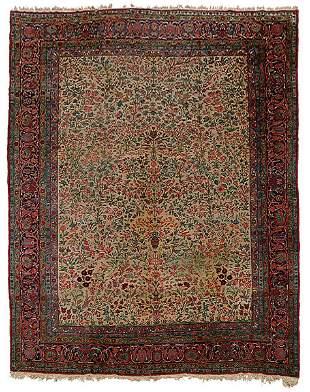 Kerman rug,