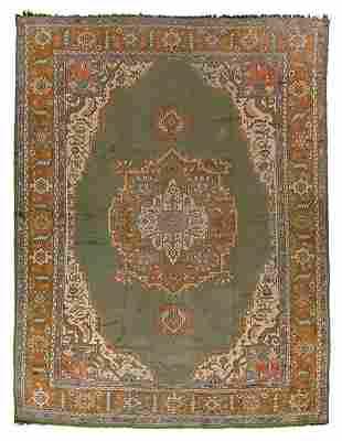 Early 20th century Oushak rug,