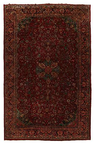 Sarouk rug,