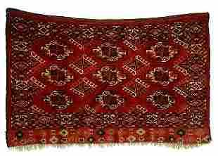 Turkoman tent facing,
