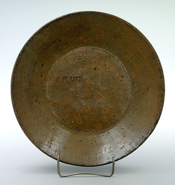 862: Albert F. Loy earthenware dish,
