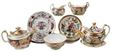 14 Pieces Assembled British Imari Dishes