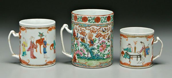 3: Chinese export porcelain,