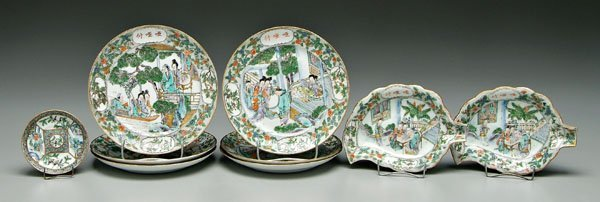 19: Chinese export porcelain,