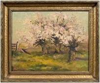 173: Mary Louise McLaughlin painting,