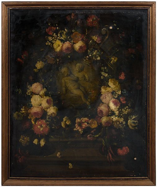 590: Flemish School still life painting,