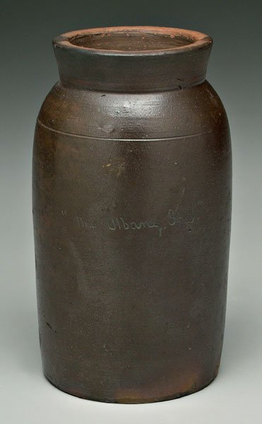 22: New Albany, Indiana, canning jar,