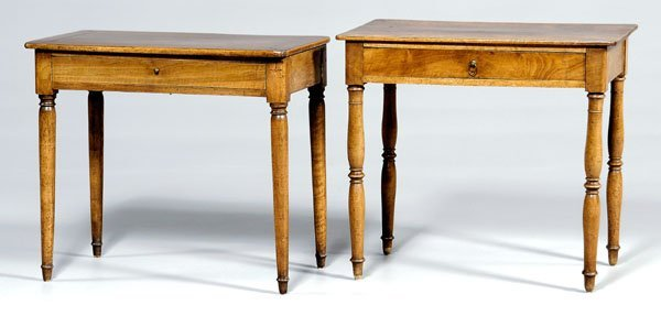 641: Two similar French campaign tables: