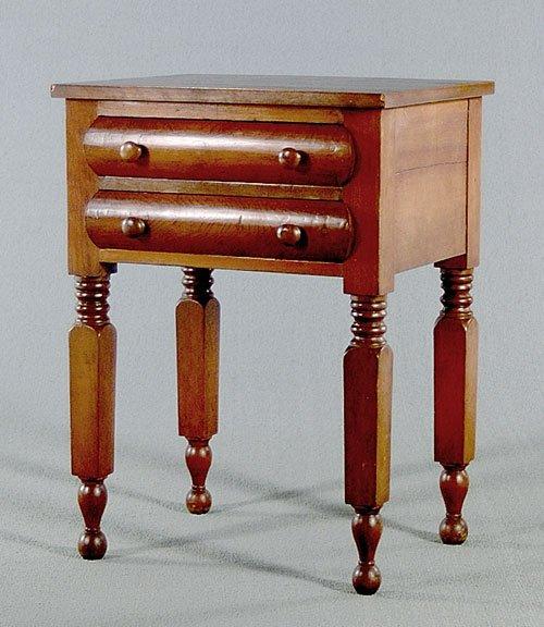 10: American, 19th century, mahogany and cher
