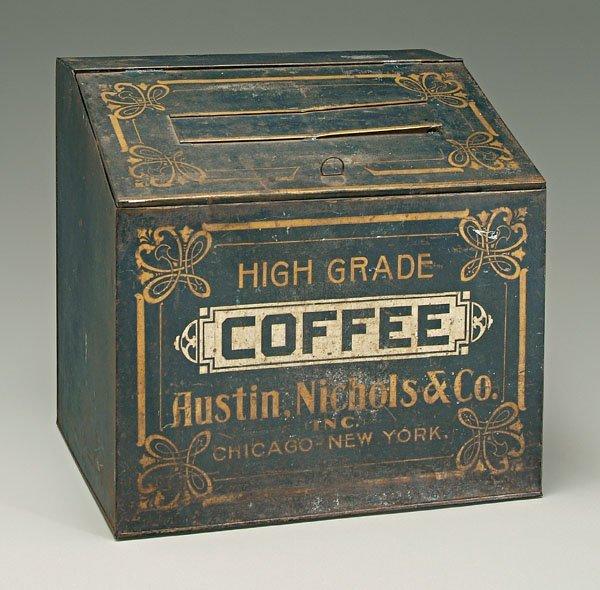 11: Coffee tin,