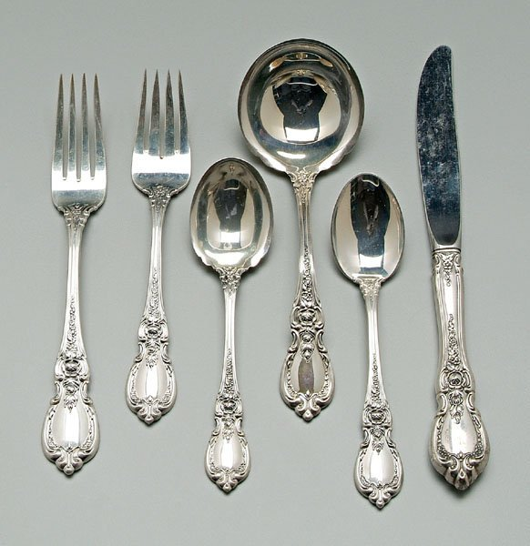 739: Towle sterling flatware: