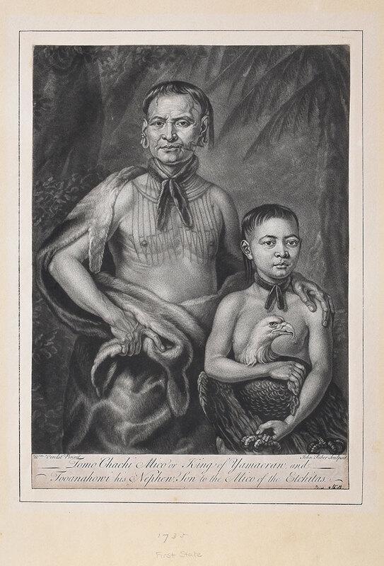 Rare Georgia Related Print after William Verelst