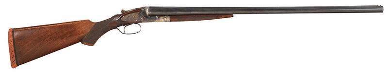 L.C. Smith Double Barrel Shotgun