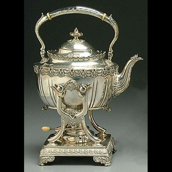 192: Six-piece Tiffany sterling tea service