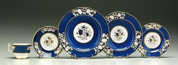 4: 30 pieces Tiffany china,