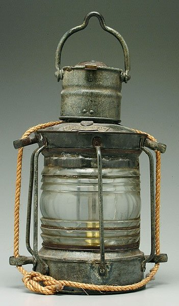 17: Ship's lantern,