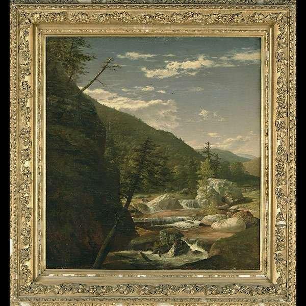 950: Hudson River school landscape,