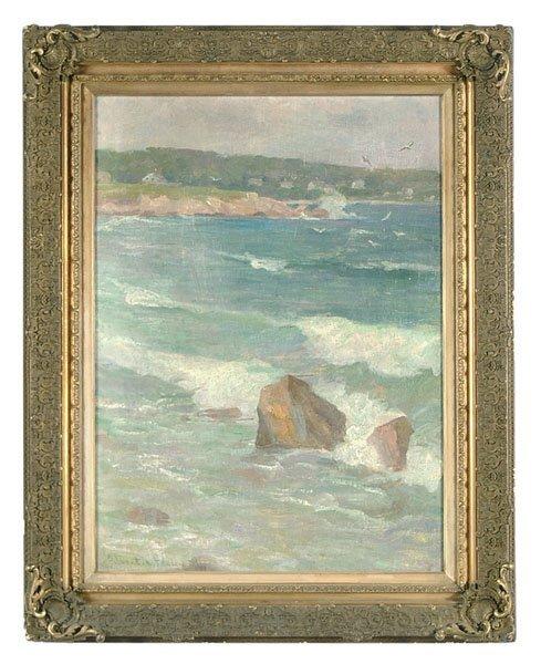 610: Coastal scene by Albert C. Fauley
