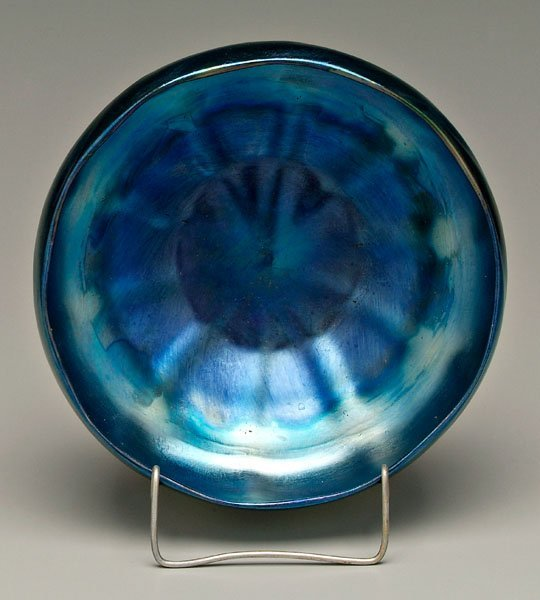 566: Tiffany favrile bowl,