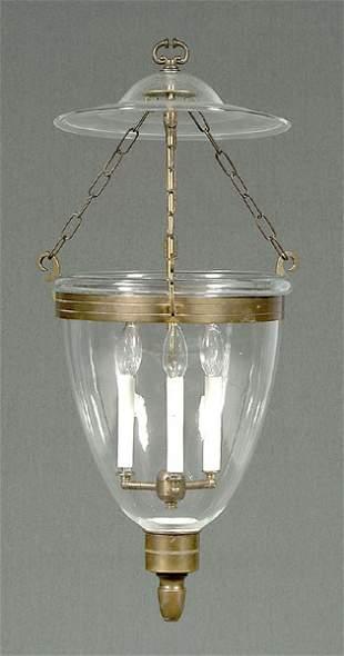 Hand-blown hall lantern,