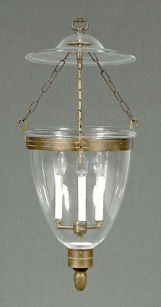 6: Hand-blown hall lantern,
