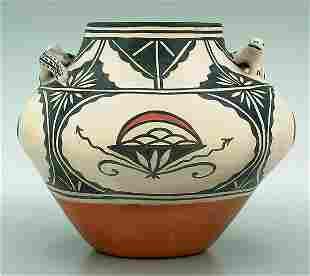 Virgil Ortiz pottery bowl,