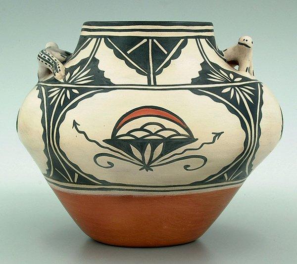 19: Virgil Ortiz pottery bowl,
