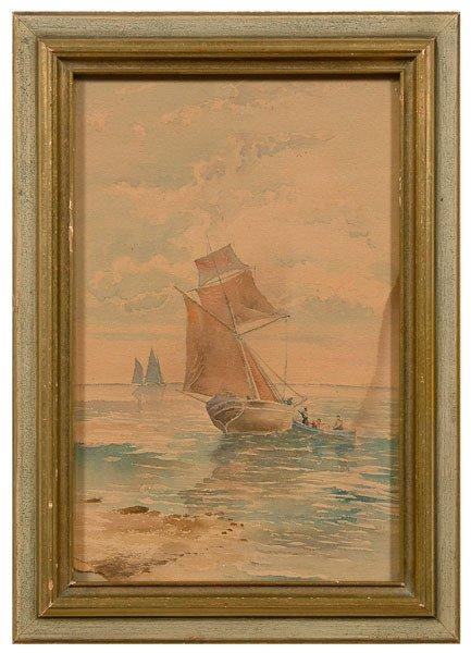 21: James Tyler watercolor,