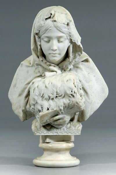 10: Gaetano Russo marble bust