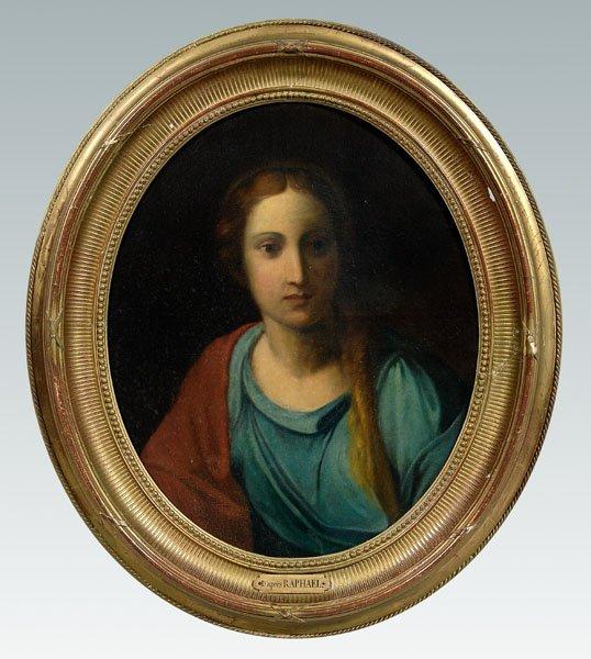 21: Portrait after Raphael,