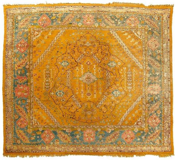 180: Oushak rug,
