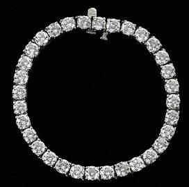 14.5tcw. Diamond Bracelet