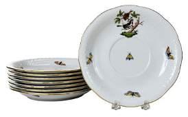 Herend Rothschild Bird Dinnerware 29 Pieces
