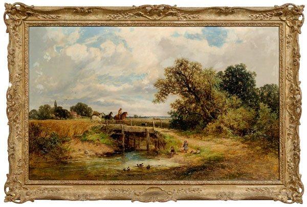 32: James Edwin Meadows painting