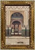 689 F Liger Hidalgo Orientalist painting