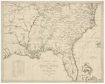 47 19th century map of the Southeast